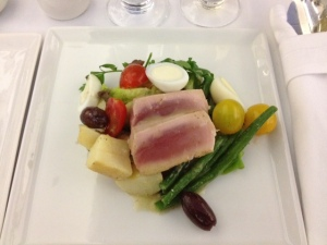 Seared Tuna on Nociose Salad