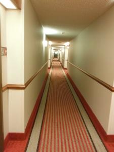 Hallway heading to my room