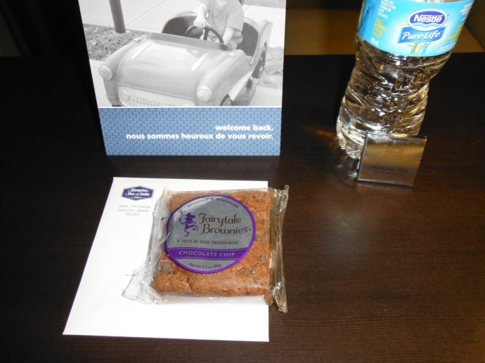Thanks from the hotel