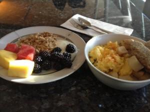 Breakfast in the lounge