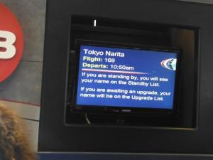 On my way to Narita