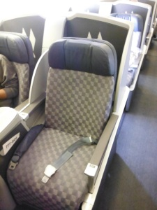 My seat for 10 hours