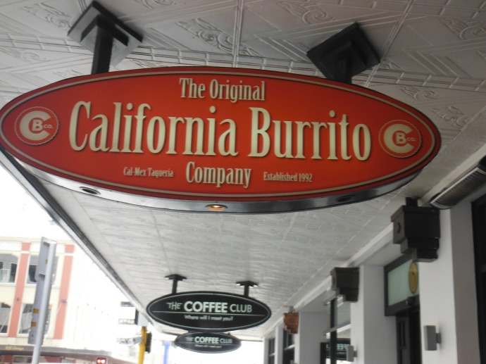 Burrito in Auckland, no thanks