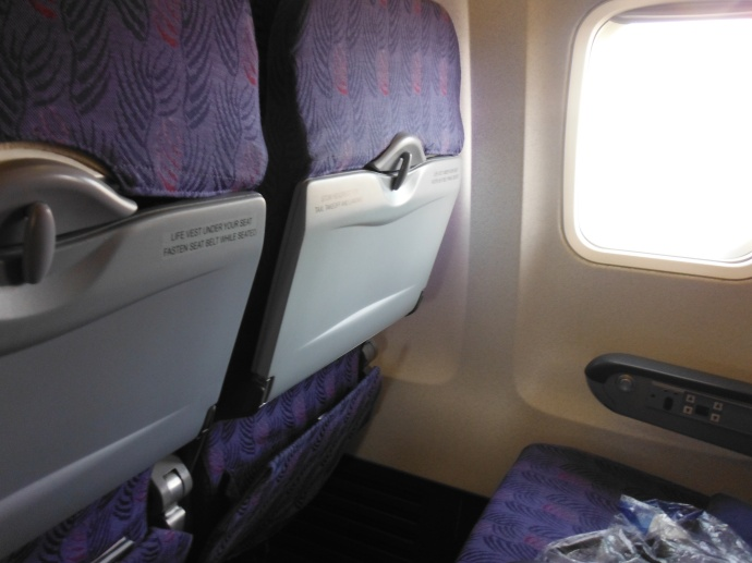 a whole row to myself