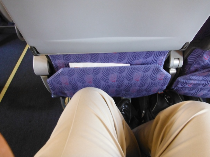 Ouch no legroom