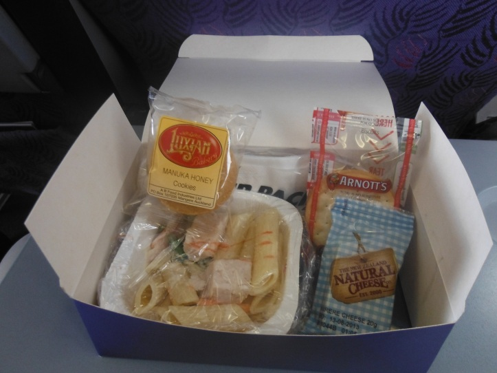 My in flight meal