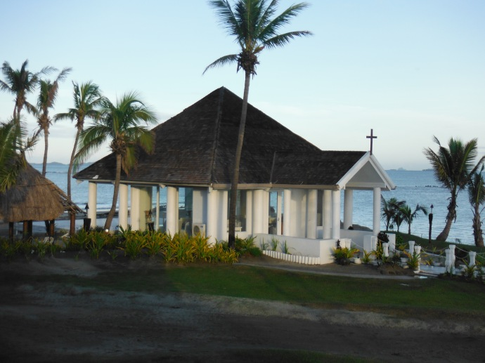 Wedding chapel (the view from my room)