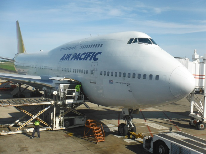 soon to be retired 747