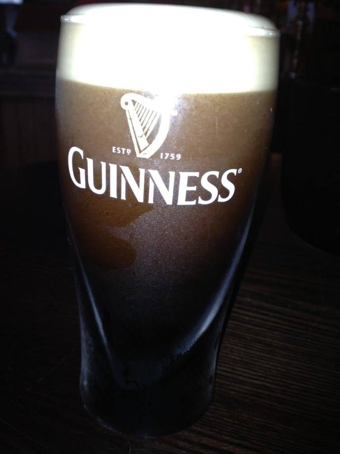 My goodness, my Guinness