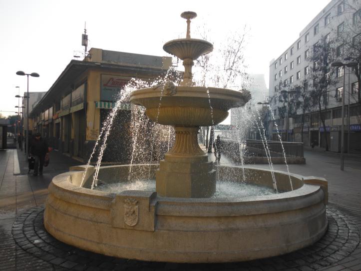 Fountain near Plaza De Armas
