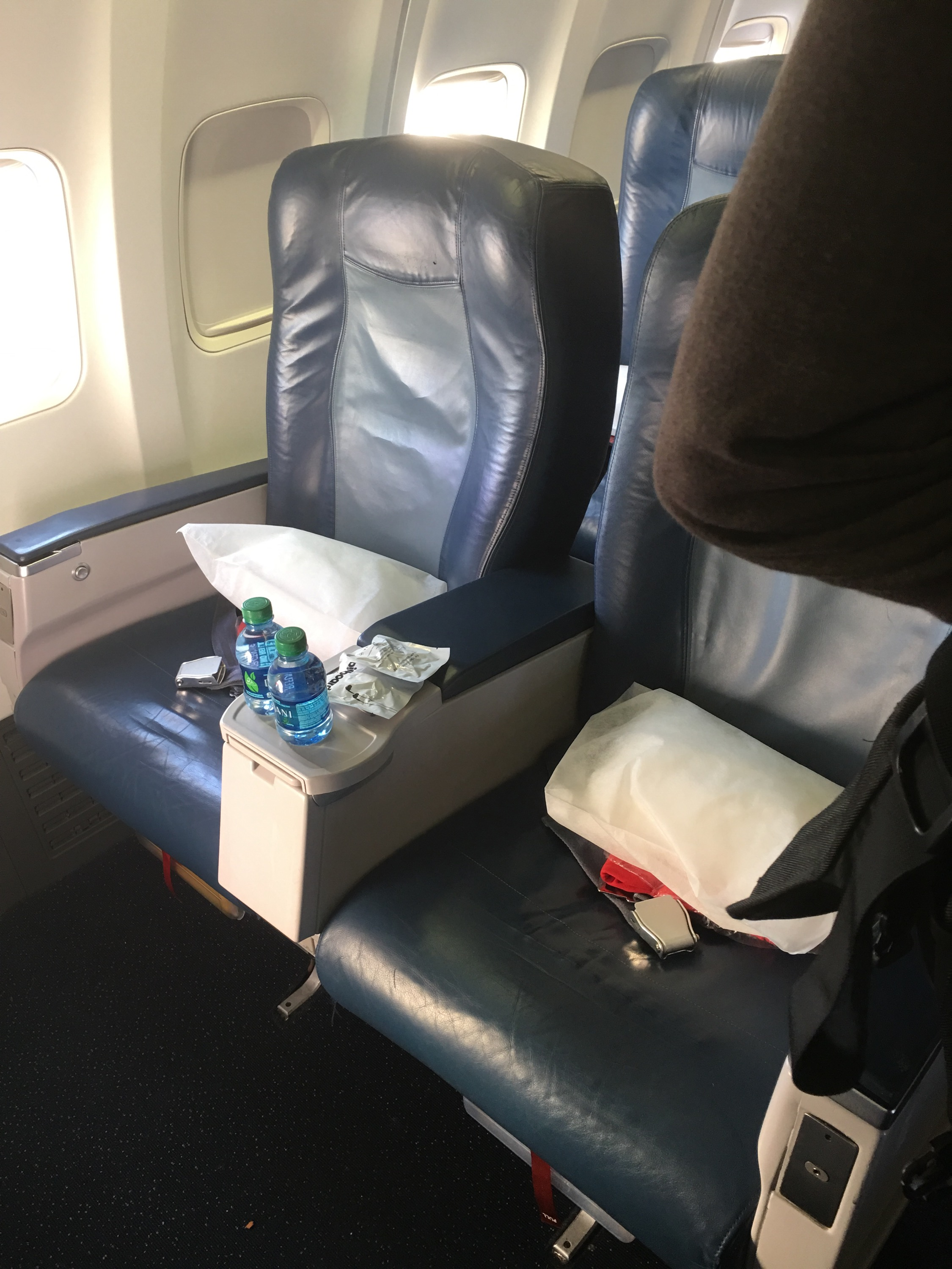 Review: Delta Airlines First Class- Salt Lake to Oakland | where is ...